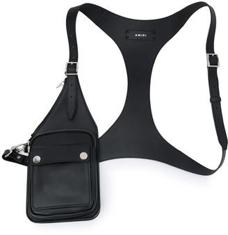 Amiri Leather Harness Bag