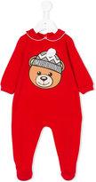 Moschino Kids bear-print onesie