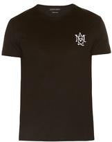 Alexander Mcqueen Logo-print Jersey T-shirt