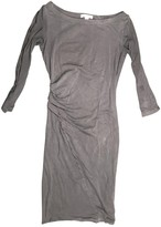 James Perse Green Cotton - elasthane Dress for Women
