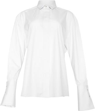 Studio Amelia Belted Maxi Shirt