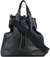 Maison Margiela triangular tote bag - men - Leather - One Size