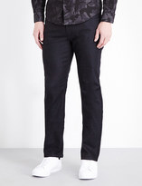 Armani Collezioni Regular-fit stretch-denim jeans