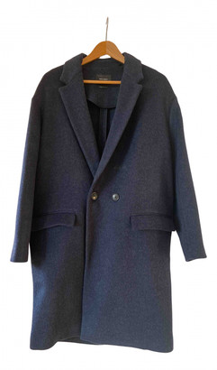 Isabel Marant Blue Wool Coats