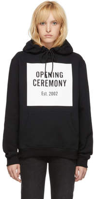 Opening Ceremony Black Box Logo Hoodie