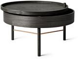 Menu Turning Table - Black Ash