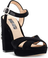 INC International Concepts Rosarria Block-Heel Sandals, Created for Macy's Women's Shoes