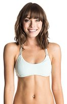 Roxy Women's Halter Tri Bikini Top