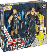 WWE Tough Talkers Brock Lesnar and Undertaker action figures