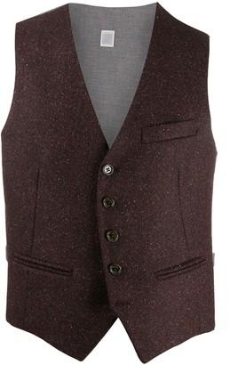 Eleventy Slim-Fit Waistcoat