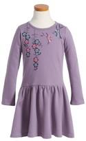 Tea Collection Girl's Majime Embroidered Dress