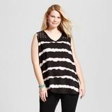 U-knit Women's Plus Size Tie Dye Blouse