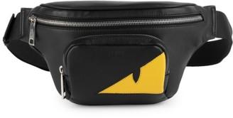 Fendi Monster Eye Leather Belt Bag