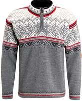 Dale Of Norway Vail Jumper Smoke/raspberry/off White/dark Charcoal