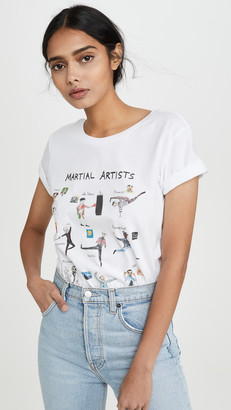 Unfortunate Portrait Martial Artists Tee