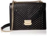 Michael Kors Whitney Large Studded Leather Conv Shoulder Bag Women's Shoulder Bag
