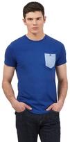 Ben Sherman Big And Tall Blue Contrast Pocket T-shirt