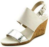 Calvin Klein Bibbi Women US 8 White Wedge Sandal