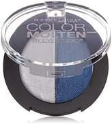 Maybelline New York Eye Studio Color Molten Cream Eye Shadow - Sapphire Mist (Pack of 2)