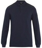 Belstaff Ashburton Long-sleeved Cotton-piqué Polo Shirt