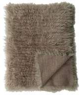 Brunello Cucinelli Cashmere & Shearling Throw Blanket