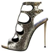 outlet exclusive discount official site Giuseppe Zanotti Glitter Cage Sandals w/ Tags JmFiCd
