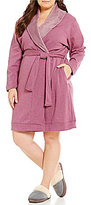 UGG Plus Blanche Fleece Lounge Robe
