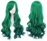 "Excellent shop Women Wavy Long Full Wigs 28"" Curly Hair Wig Halloween Cosplay Custume Party"