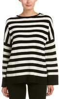 The Kooples Striped Cashmere Sweater.