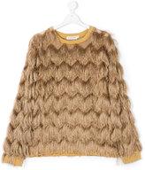 Andorine fringed sweatshirt