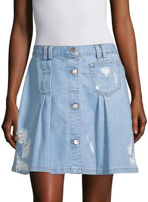 Public School Penny Denim Skirt