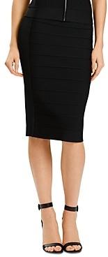 Herve Leger Bandage Pencil Skirt