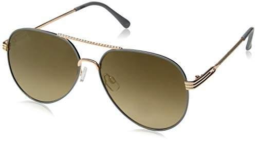 Rocawear Men's R1499 Gldgy Non-polarized Iridium Aviator Sunglasses