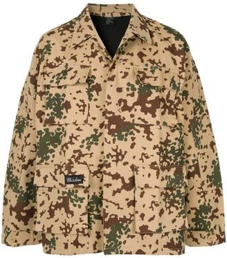 we11done camouflage jacket