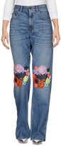 Christopher Kane Denim pants - Item 42554882