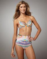 Mara Hoffman Tut High-Waist Bikini