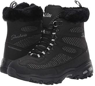 Skechers D'Lites Bomb Cyclone (Black) Women's Boots