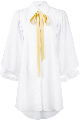 Adam Lippes Long Sleeve Shirt Dress