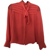Celine Pink Silk Top for Women