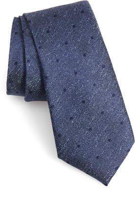 Calibrate Mangan Dot Silk Tie