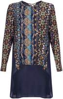 Yumi Printed Long Sleeved Tunic Top