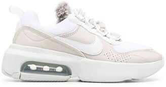 Nike Chunky Logo Trainers With Faux-Fur Tongue