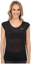 Nike Dri-FITtm Cool Breeze Running Top Women's Short Sleeve Pullover