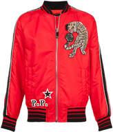 Philipp Plein We Are One bomber jacket