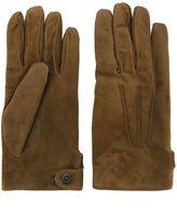 Lanvin suede gloves