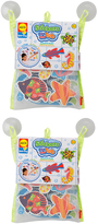 Beach Bath Scene Foam Pack - Set of Two