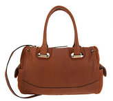 B. Makowsky Glove Leather Zip Top Convertible Satchel