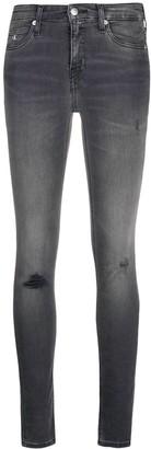 Calvin Klein Jeans CKJ 011 mid-rise skinny jeans