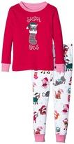 Hatley Santa Paws Pajama Set (Toddler/Little Kids/Big Kids)