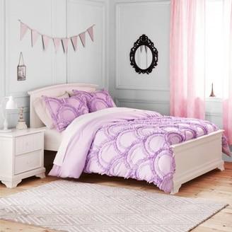 Better Homes & Gardens Better Homes and Gardens Kids Lavender Ruffle Bedding Comforter Set